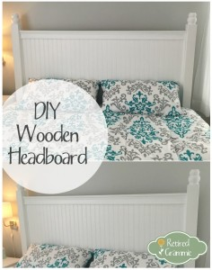 DIY Wooden Headboard
