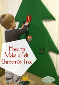 Felt Christmas Tree Activity