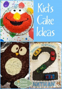 Kid's Cake Ideas
