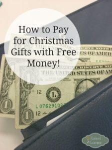 How I Shop for Holiday Gifts for Free